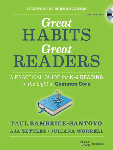 Great Habits Great Readers book cover