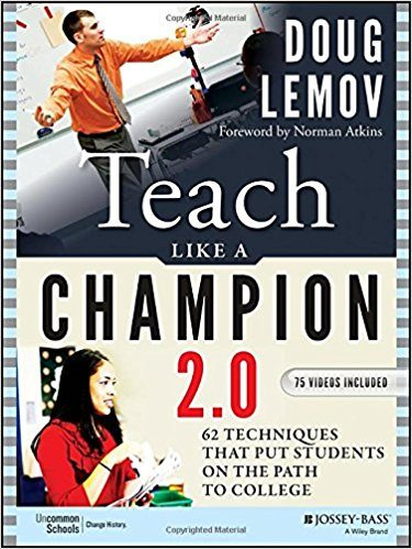 Teach like a Champion 2.0 Book Cover